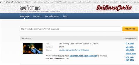 download youtube cara ss cara download youtube tanpa software ss site download