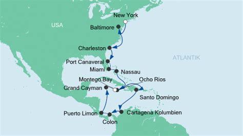 aidamar panoramakabine kreuzfahrt hafen montego bay jamaika seereisen