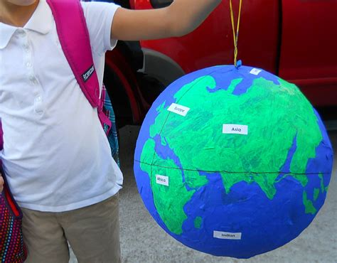How To Make A Paper Mache Globe - as the world turns and the wine pours
