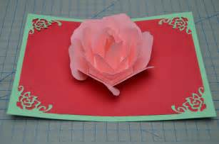 how to make a pop up card flower pop up card tutorial creative pop up cards