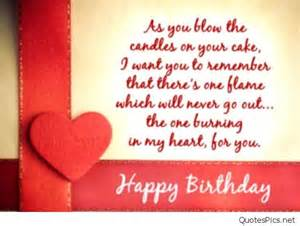 happy birthday love cards messages and sayings