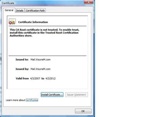 install agent and certificate on unix and linux computers image ssl error invalid or self signed certificate