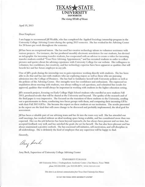 Sle Reference Letter For College Graduate request letter recommendation graduate school sle 28