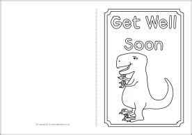 get well soon card colouring templates sb8890 sparklebox