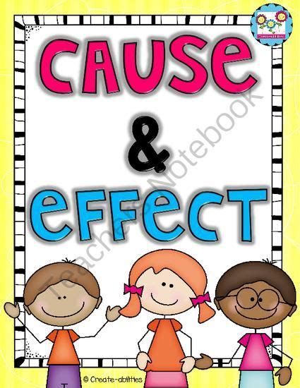 printable cause and effect poster cause and effect from create abilities on