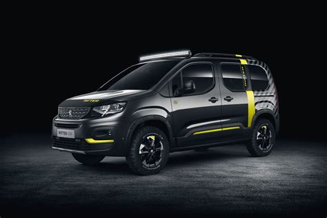 peugeot 4x4 cars 2018 peugeot rifter 4x4 is a turbo diesel powered concept