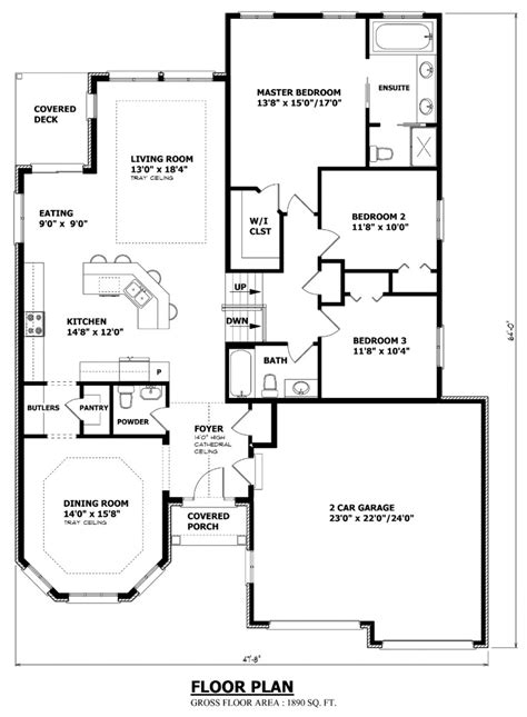 Home Floor Plans Canada by House Plans Canada Stock Custom