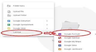 membuat absen  menggunakan google form