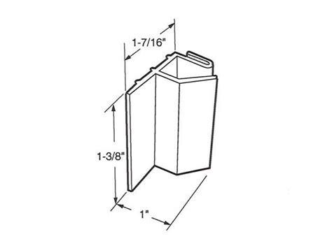 Sliding Shower Door Jamb Guide M6091 Sliding Shower Door Jamb Guide For Bath Co M 6091 Door Window Parts For All Of