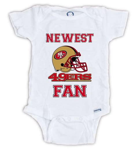 gifts for 49ers fans san francisco 49ers fan baby onesie baby bodysuit