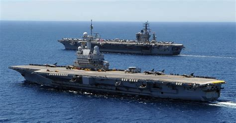 This is the French aircraft carrier headed to Syria for