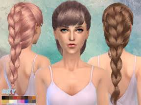 custom hair for sims 4 the sims resource skysims hair 218 sims 4 downloads