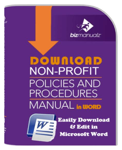board policy manual template non profit policy and procedure manual policies and