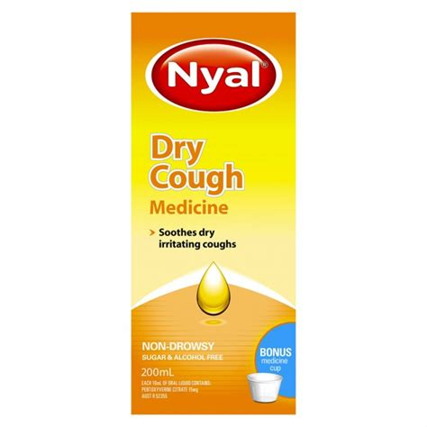 dry couch buy dry cough medicine non drowsy 200 ml by nyal online