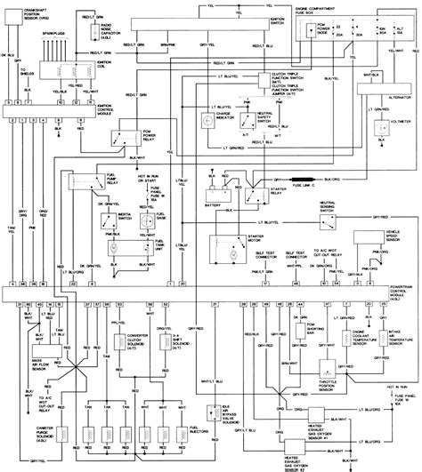 94 ford ranger xlt radio wiring diagram 94 ford ranger