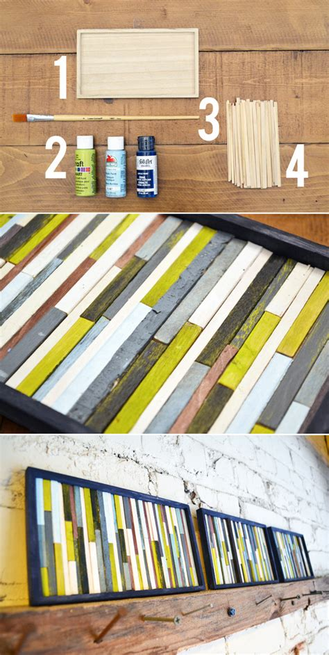 diy paintings for home decor 19 genius diy ideas for wall art 11 diy crafts you