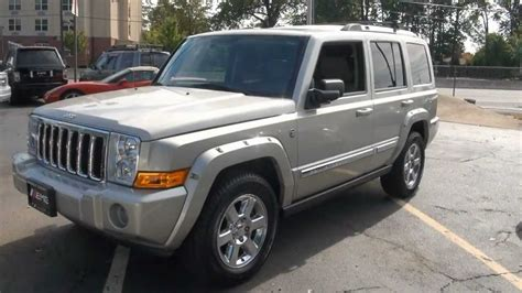 Jeep Commander Hemi 2007 Jeep Commander 5 7 Hemi Limited Stock 2342