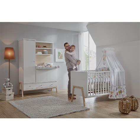 chambre nourrisson schardt set pour chambre d enfant nature avec lit
