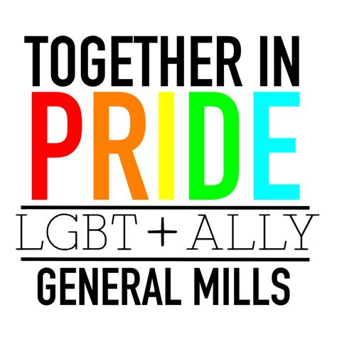 Pride Logo 11 general mills named a 2016 top place to work for lgbt