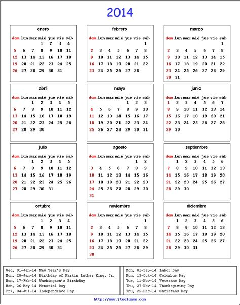 2014 Us Calendar Search Results For Calender With Usa Holidays 2014