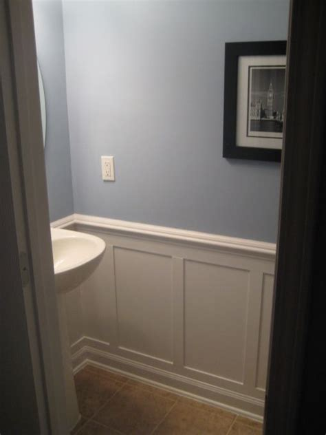 half bath redo with moulding i this idea for our half bath laundry room for the home