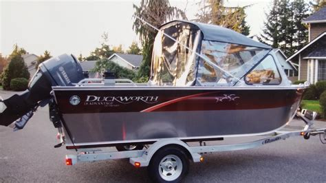 duckworth boat canvas 2014 duckworth advantage outboard 18 power new and used