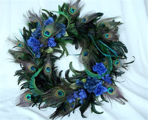 french feathers home decor and accessories home decor and peacock home decor wreath natural feathers