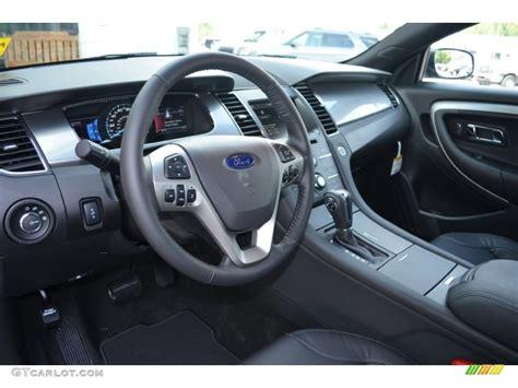 2014 Ford Taurus Sho Interior by 2014 Ford Taurus Sel Charcoal Black Dashboard Photo