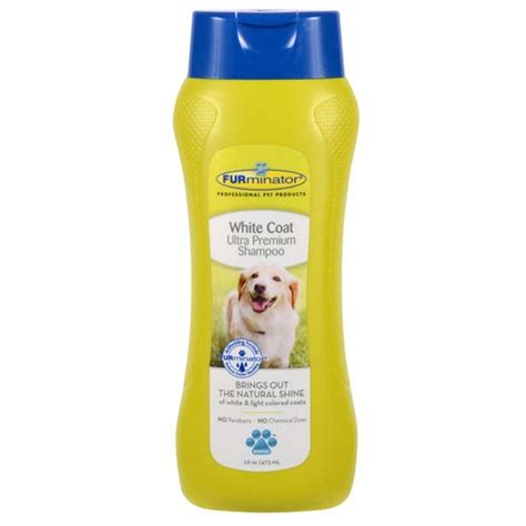 r for dogs furminator white coat ultra premium shoo for dogs naturalpetwarehouse