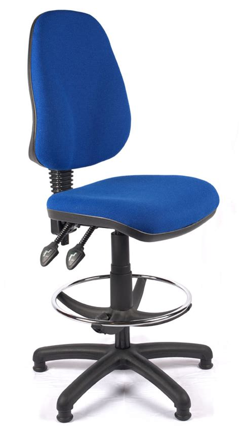 Draftsman Stool With Back by Juno High Back Draughtsman Chair