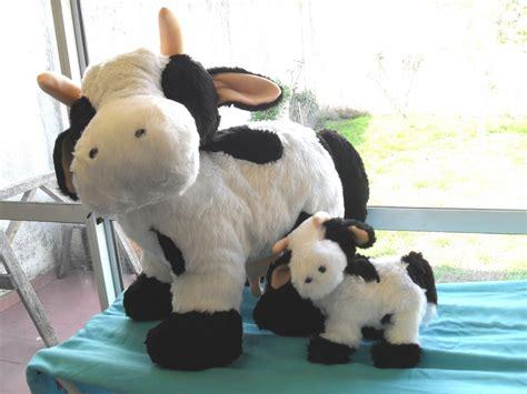 moldws de peluches de vacas creaci 211 n de mu 209 ecos de peluche vacas