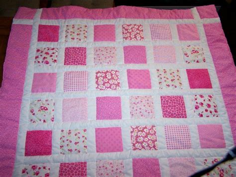 How To Make A Patchwork Quilt From Baby Clothes - 17 best images about pink quilts on quilt