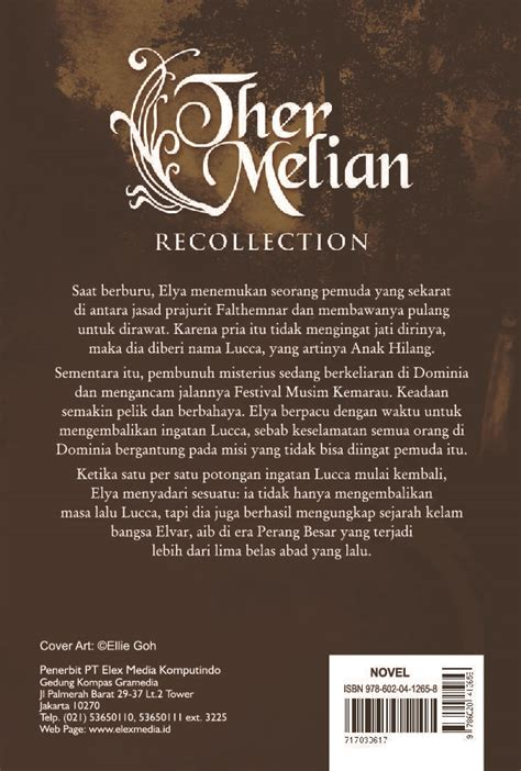 Ther Melian Recolection Ed Collectors jual buku ther melian recollection collector s edition oleh shienny m s scoop indonesia