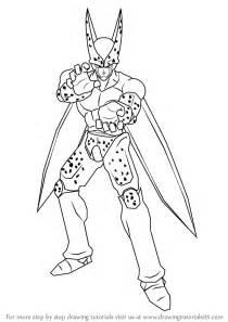 learn draw cell dragon ball dragon ball step step drawing tutorials