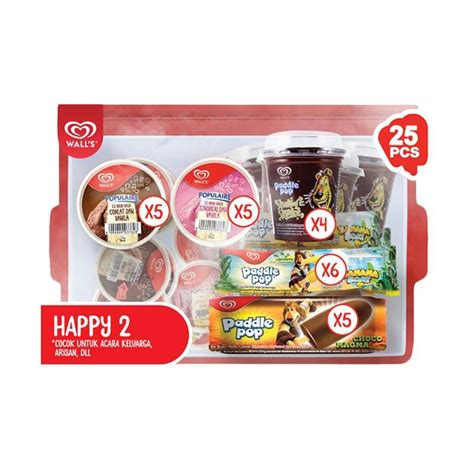 Paket Happy jual wall s paket happy 2 palembang harga