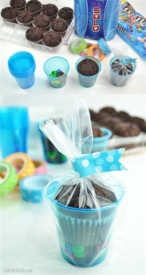 Simple Giveaway Ideas - easy party treat cup ideas giveaway