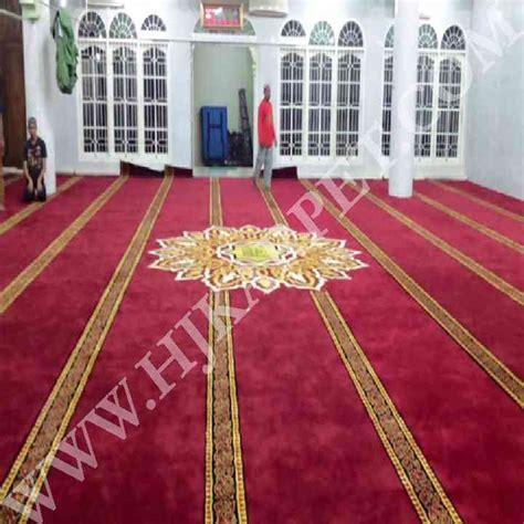 Karpet Masjid Di Medan Pemasangan Karpet Masjid Isti Adah Medan Sumatra Utara Hjkarpet