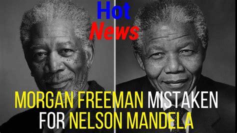 freeman and nelson mandela nelson mandela and freeman meme freeman