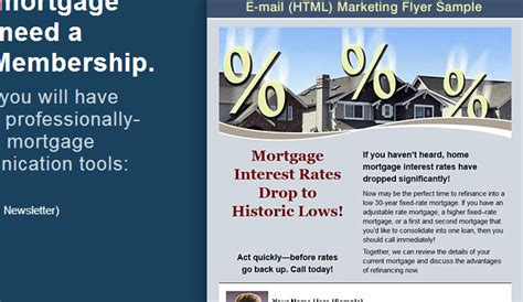 free mortgage flyer templates 4 mortgage flyers templates af templates