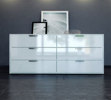contemporary white dresser thompson contemporary modern dressers by modloft