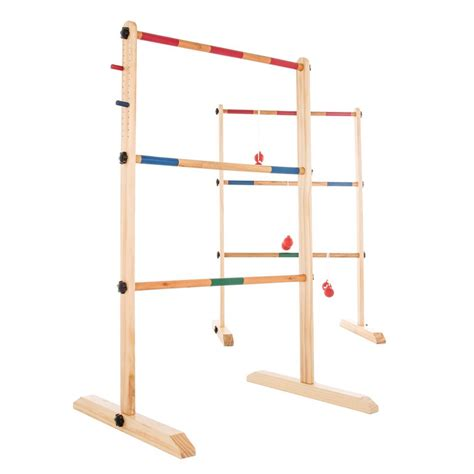 39 5 in h wooden ladder golf with 6 bolas m350009 the