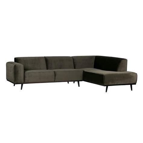 sofa samt grün bepurehome sofa statement ecksofa rechts warm gr 252 n samt