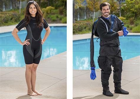 dive suits scuba rebreathers padi
