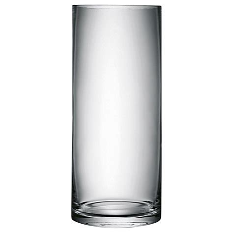 Column Vase by Buy Lsa Glass Column Vases Lewis