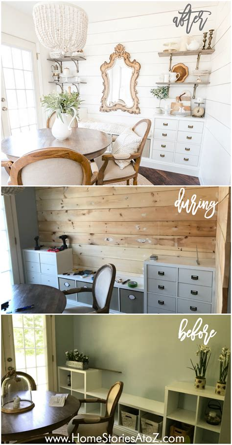 shiplap tutorial how to create a shiplap wall with wood boards