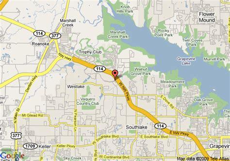 roanoke texas map map of dallas fort worth marriott solana roanoke