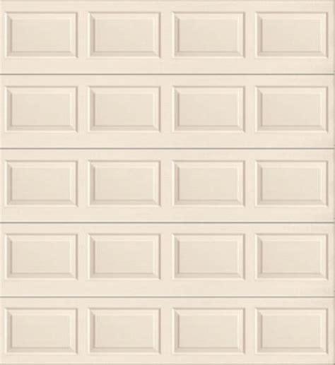 8 X 9 Insulated Garage Door by Ideal Door 174 9 Ft X 8 Ft 4 Almond Raised Pnl Insul