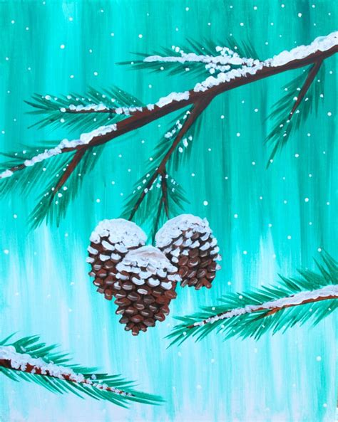 winter acrylic painting ideas 17 best ideas about winter painting on acrylic