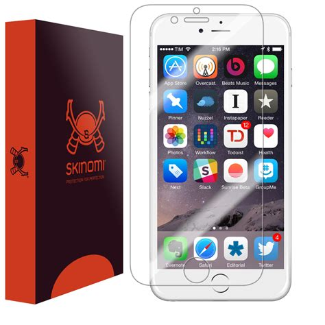 skinomi techskin apple iphone 6 screen protector