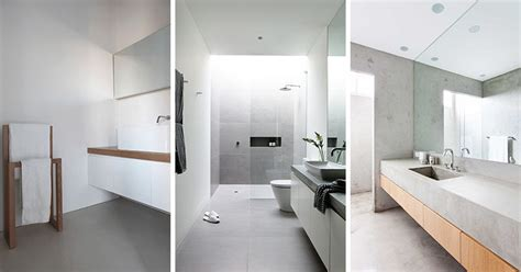 Modern Bathroom Design 6 ideas for creating a minimalist bathroom contemporist